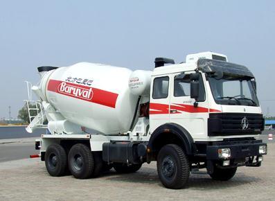 巴里巴BZ5252/3GJB混凝土搅拌运输车图片