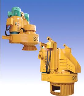 首钢泰晟STF系列分离式双回转套管钻机