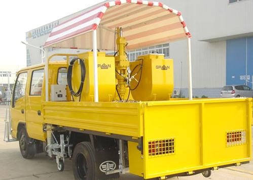 山推格林SG-MQ系列车载高压无气冷喷划线机