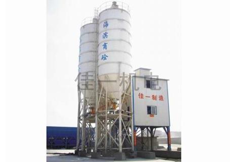 佳一HZS90A连续强制式水泥混凝土搅拌站