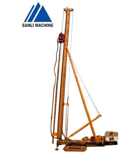 三力机械CFG-26长螺旋钻孔机