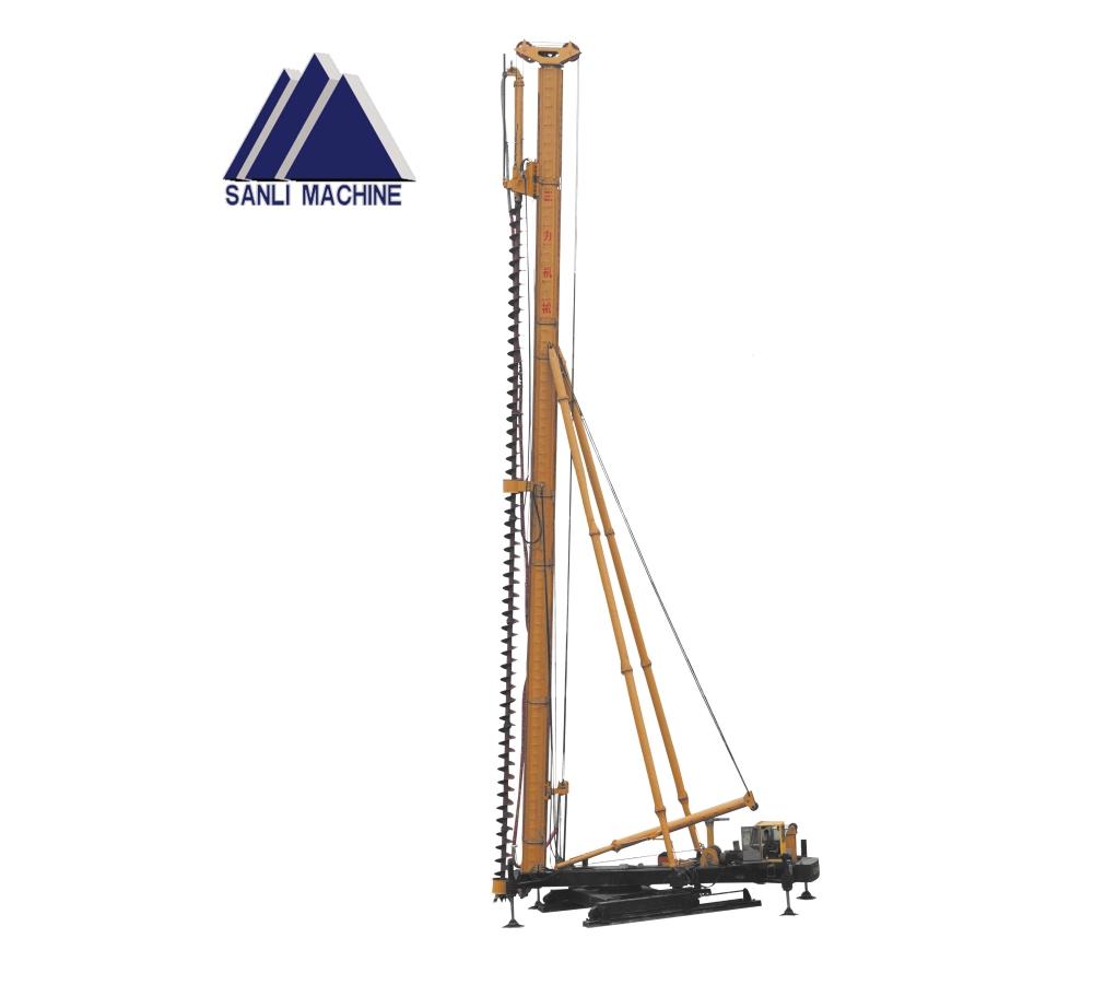 三力机械CFG-30长螺旋钻孔机