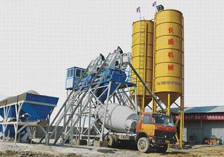 长盛机械HZS系列混凝土搅拌站