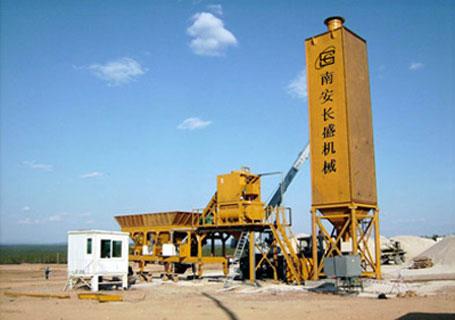 长盛机械YHZS系列移动式混凝土搅拌站