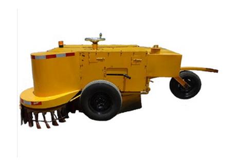 闽科无动力拖挂式刷盘扫路机(水箱前置)