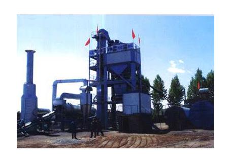 辽原筑机LB1000型沥青混凝土搅拌设备