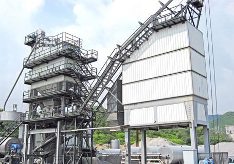 联丰机械LB3000沥青混合料搅拌设备图片
