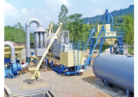 联丰机械QLB40强制式沥青混凝土搅拌设备