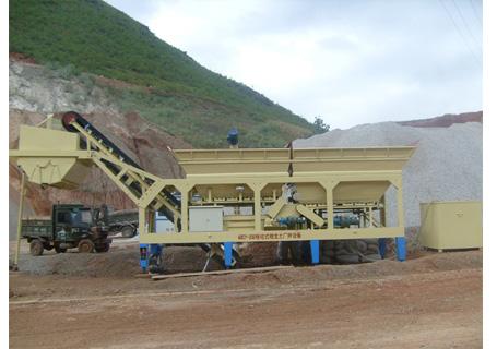 联丰机械WBSY300tqq移动式稳定土厂拌设备图片