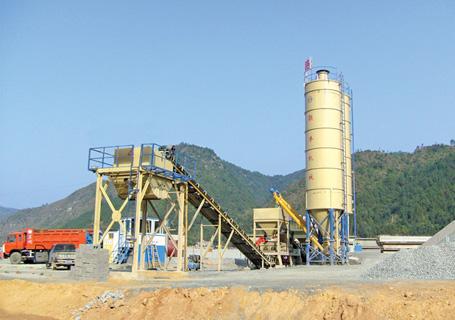 联丰机械DWBS500稳定土厂拌设备图片