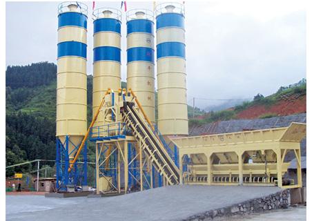 联丰机械HZS60水泥混凝土搅拌站