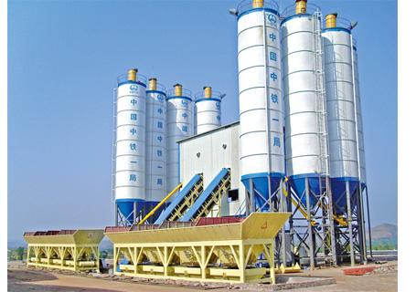 联丰机械2HZS60水泥混凝土搅拌设备
