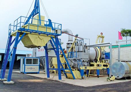 联丰机械QLB20强制式沥青混凝土搅拌设备
