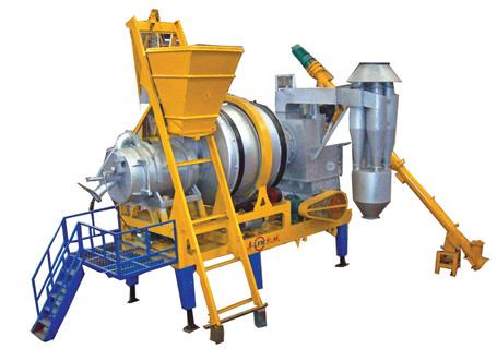 联丰机械QLB15强制式沥青混凝土搅拌设备图片