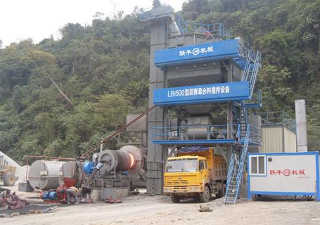 联丰机械LB系列沥青混凝土搅拌设备