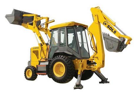 力士WZ30-90挖掘装载机