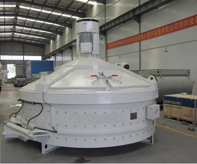 新型MP系列立轴行星式混凝土搅拌机