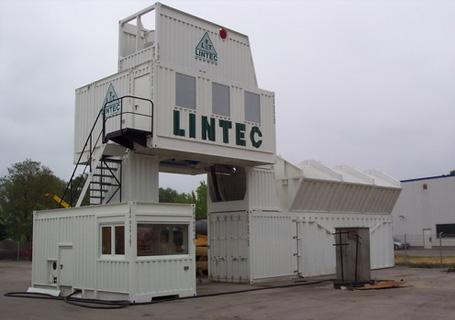 林泰阁CC2000标准集装箱式水泥混凝土搅拌站