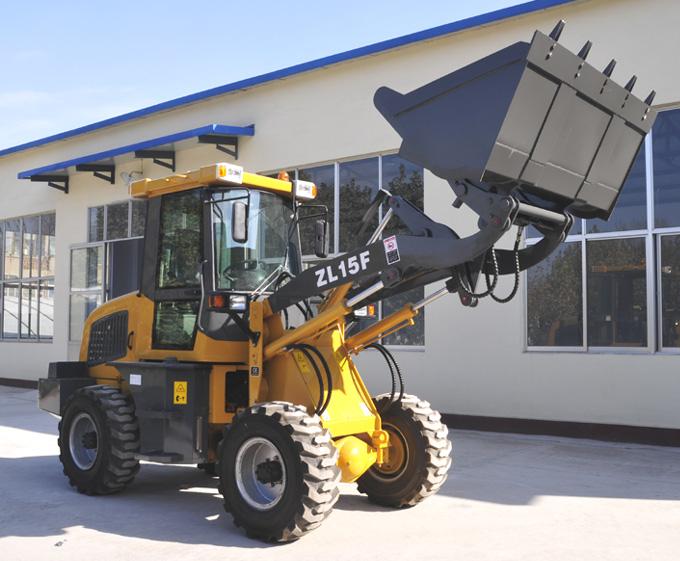 鸿源ZL15F轮式装载机