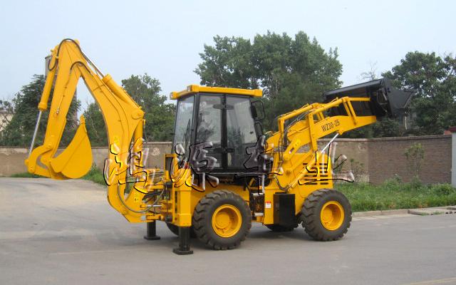 鸿源WZ30-25挖掘装载机