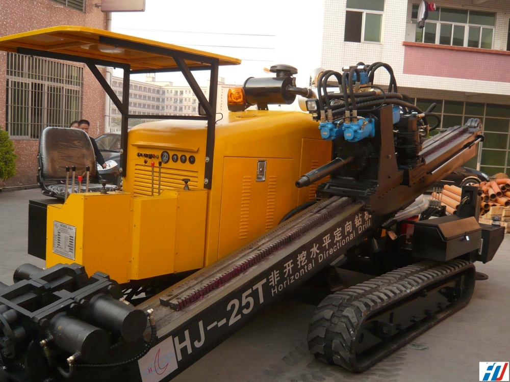 宏建机械HJ-25T齿轮齿条非开挖水平定向钻机