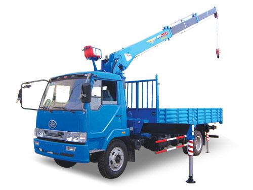 湖南飞涛SQ503 5吨直臂3节臂随车起重机图片
