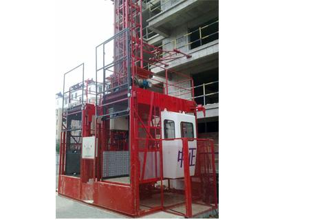 立新SCD200/200施工升降机图片