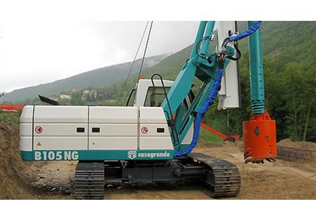 卡萨阁蓝地B105 NG旋挖钻机