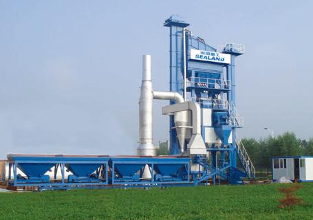 沧田重工LB1000沥青搅拌设备