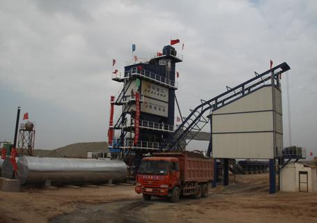 沧田重工LB4000沥青搅拌设备图片