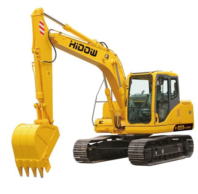 海斗HW130-8挖掘机图片