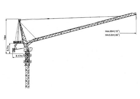 克瑞D300塔式起重机图片