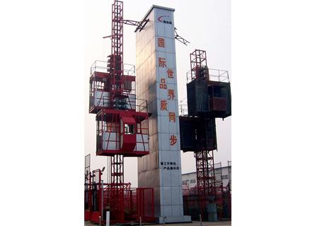 克瑞SC150/150施工升降机图片