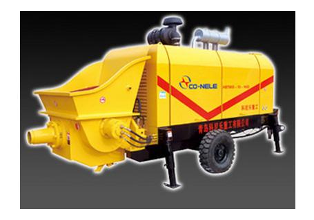 科尼乐重工DHBTS60-9柴油机混凝土输送泵
