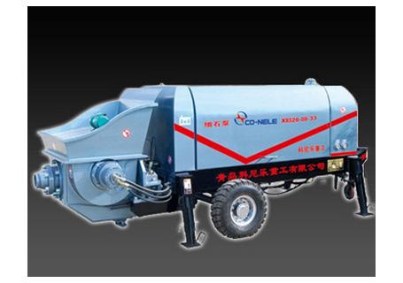 科尼乐重工DHBT30-10-56柴油机小型大骨料输送泵