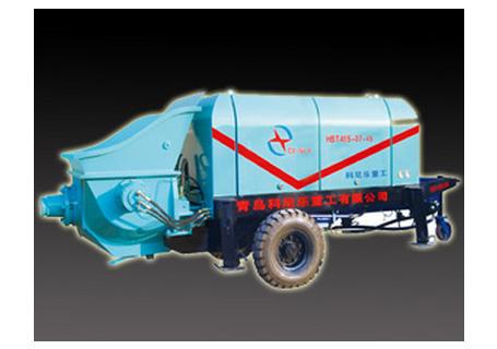 科尼乐重工HBT50S-11-55小型大骨料输送泵