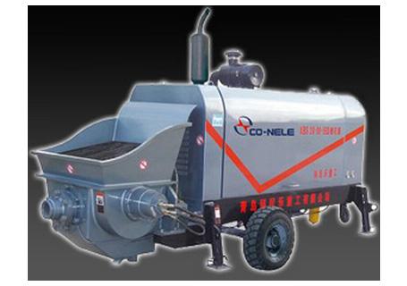 科尼乐重工DXBS25-08-56柴油机细石混凝土输送泵