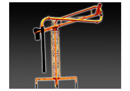 科尼乐重工HG12手动式混凝土布料机