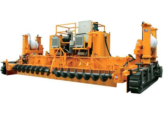 海天路矿H-6型滑模摊铺机