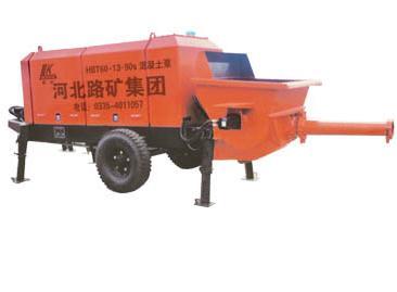 海天路矿HBT系列S管阀输送泵