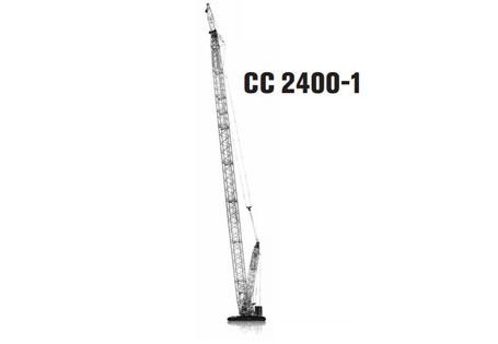 特雷克斯CC 2400-1桁架臂履带起重机