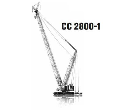特雷克斯CC 2800-1桁架臂履带起重机