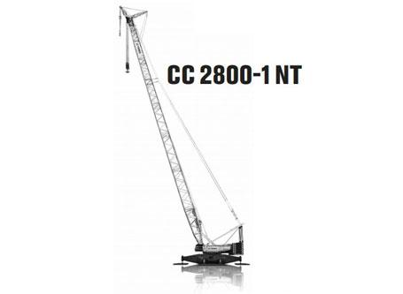特雷克斯CC 2800-1NT桁架臂履带起重机