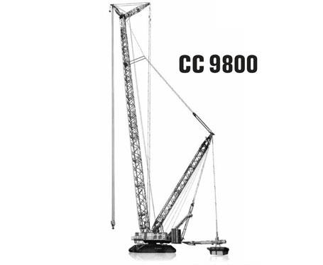 特雷克斯CC 9800履带式起重机