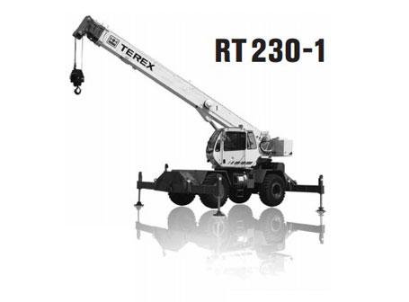 特雷克斯RT 230-1汽车起重机