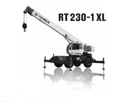 特雷克斯RT 230-1 XL汽车起重机