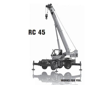 特雷克斯RC 45汽车起重机