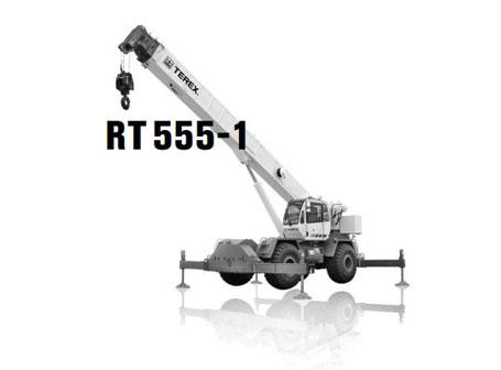 特雷克斯RT 555-1汽车起重机