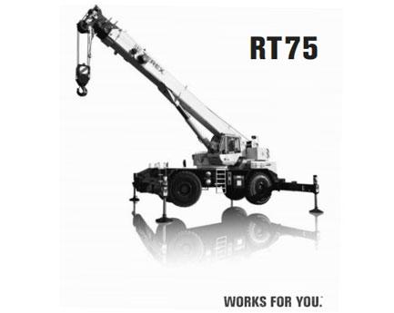 特雷克斯RT 75汽车起重机
