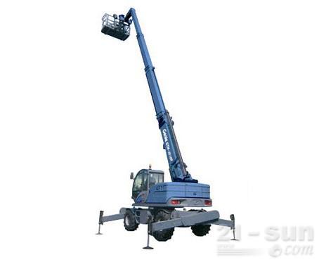 吉尼GTH-4518R高延伸型旋转粗糙地面叉装机(限CE )